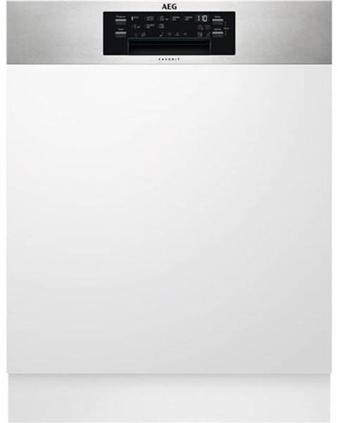 AEG Umývačka riadu AEG Mastery Fee63716pm nerez