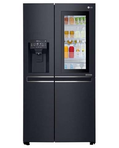 Americká chladnička LG Gsx960mtaz čierna