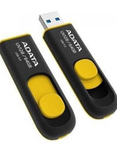 USB flash disk Adata UV128 64GB žltý