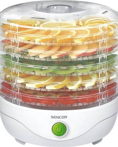 Sušička ovocia Sencor SFD 750WH biela