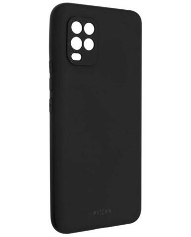 Kryt na mobil Fixed Story na Xiaomi Mi 10 Lite čierny