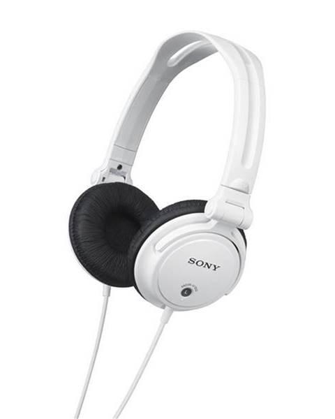 Sony Slúchadlá Sony Mdrv150w.AE biela