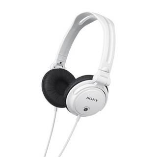 Slúchadlá Sony Mdrv150w.AE biela