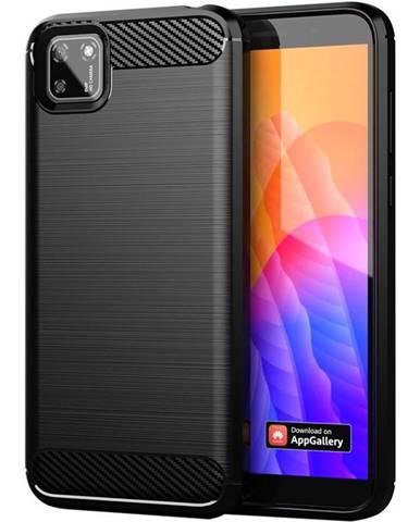 Kryt na mobil WG Carbon na Huawei Y5p/Honor 9S čierna