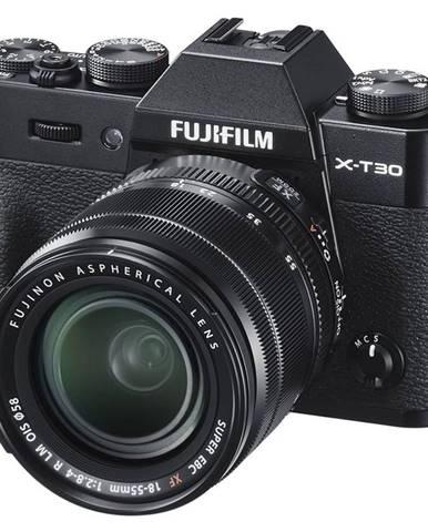 Digitálny fotoaparát Fujifilm X-T30 + XF18-55 mm čierny