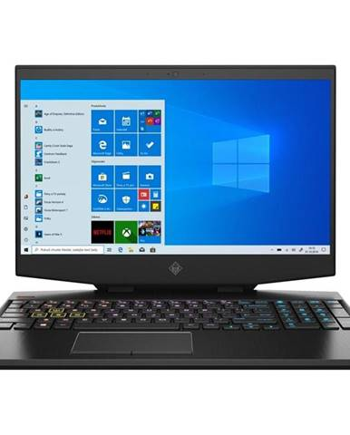 Notebook HP Omen 15-dh1000nc čierny