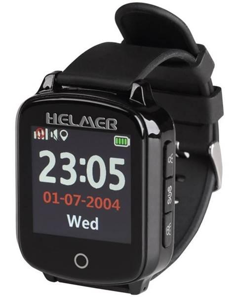 Helmer Inteligentné hodinky Helmer pro seniory LK 706 čierne