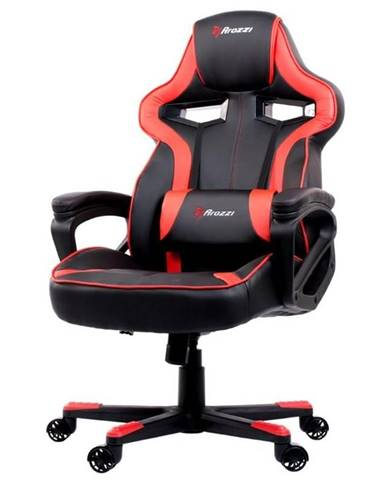 Herná stolička Arozzi Milano čierna/červená