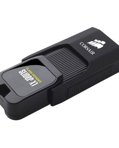 USB flash disk Corsair Voyager Slider X1 256GB čierny