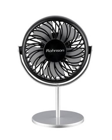 Ventilátor stolový Rohnson R-809 čierny/strieborn