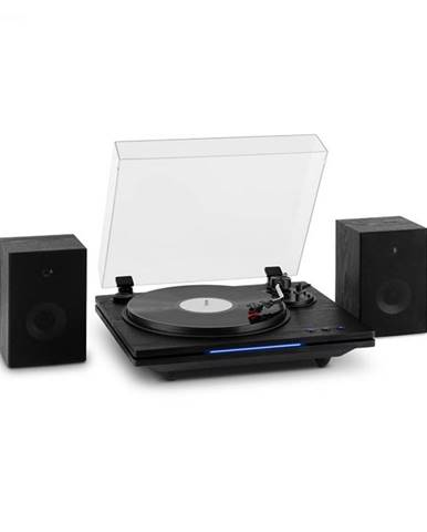 Auna TT-Play PLUS, gramofón, reproduktory, max.20W, BT, 33/45 rpm