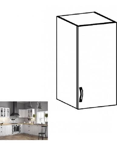 Horná skrinka G40 pravá biela/sosna andersen PROVANCE