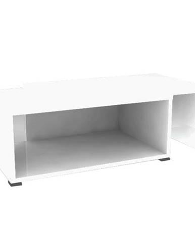 Konferenčný rozkladací stolík biela DRON