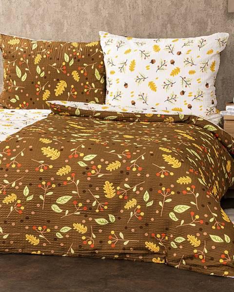 4Home 4Home Krepové obliečky Jeseň, 140 x 200 cm, 70 x 90 cm
