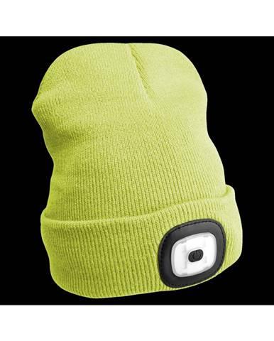 Sixtol Čiapka s čelovkou 45 lm, USB, uni, žltá