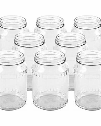 Orion Sada zaváracích pohárov so závitom, 720 ml, 8 ks