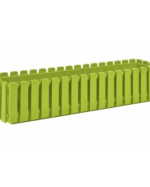 Bellatex PLASTKON Truhlík FENCY plastový zelený - 75 x 18,5 cm
