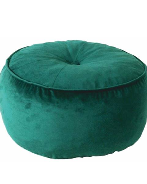 Bellatex Temp Kondela Látkový taburet Kerem, smaragdová