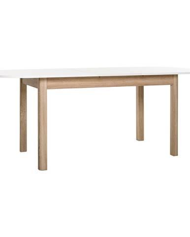 Jedálenský stôl LUND dub/biela