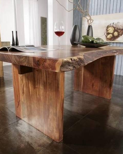 Bighome.sk METALL Jedálenský stôl 210x110 cm, akácia