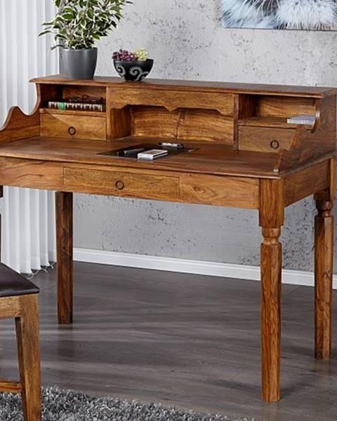 Bighome.sk Písací stôl MAKASSAR SECRET