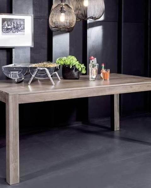 Bighome.sk ROUND Jedálenský stôl 178x90 cm, dymová, palisander