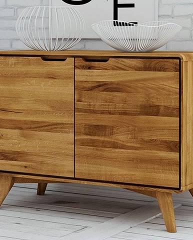 SKANE Komoda II. 63x90 cm, dub, prírodná
