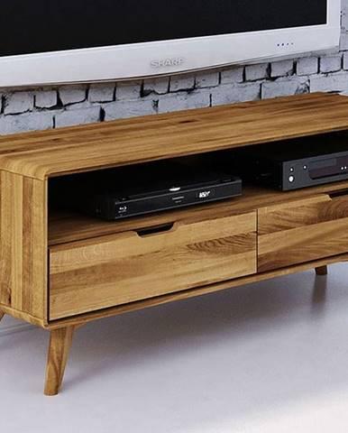 SKANE TV stolík 120x48 cm, dub prírodná