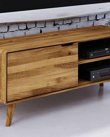 SKANE TV stolík I. 120x48 cm, dub prírodná