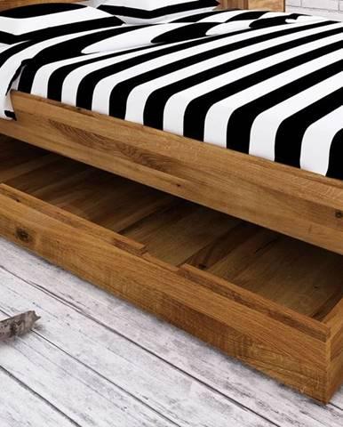 SKANE Úložný priestor pod posteľ 150x68 cm, dub, prírodná