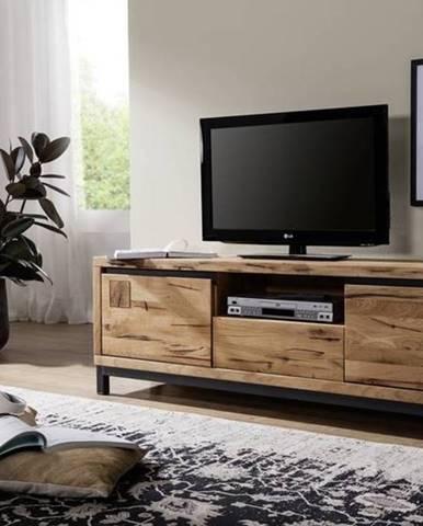 TIROL II. TV stolík 170x56 cm, prírodná, dub