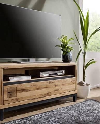 TIROL TV stolík 120x56, prírodná, dub