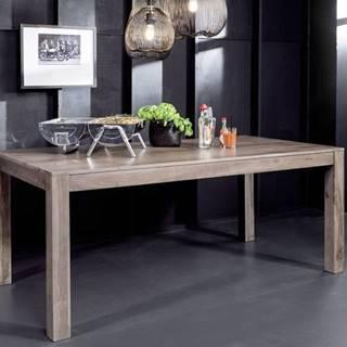 ROUND Jedálenský stôl 178x90 cm, dymová, palisander
