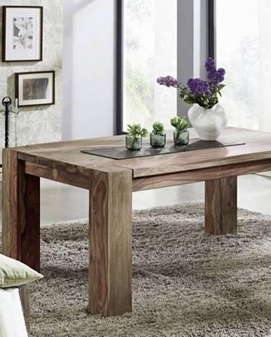 GREY WOOD Jedálenský stôl 200x100 cm, palisander