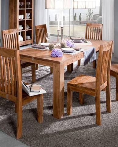 KOLINS Jedálenský stôl 140x90 cm, akácia