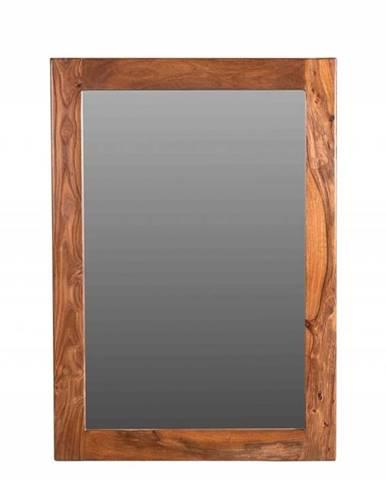 MONTREAL Zrkadlo 100x70 cm,hnedá, palisander