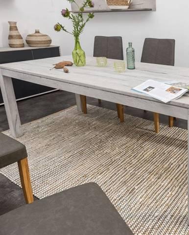 TAMPERE Jedálenský stôl 180x100 cm, dub, svetlosivá