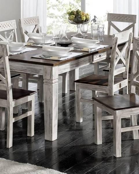 Bighome.sk ANTIK Jedálenský stôl 210x100 cm, mango a akácia