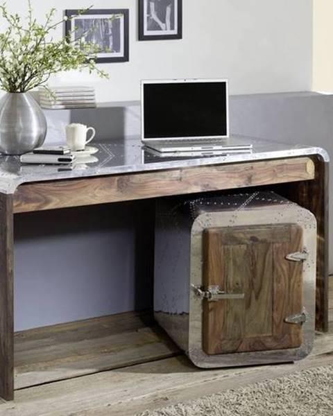 Bighome.sk PLAIN SHEESHAM Písací stôl