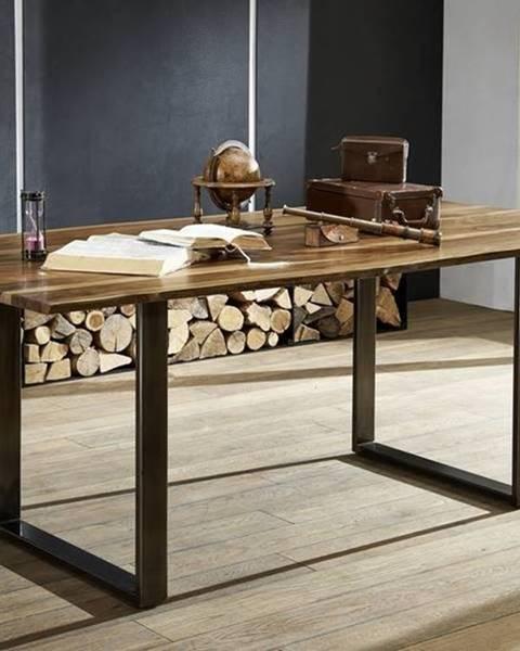 Bighome.sk ROUND Jedálenský stôl METALL 200x100 cm