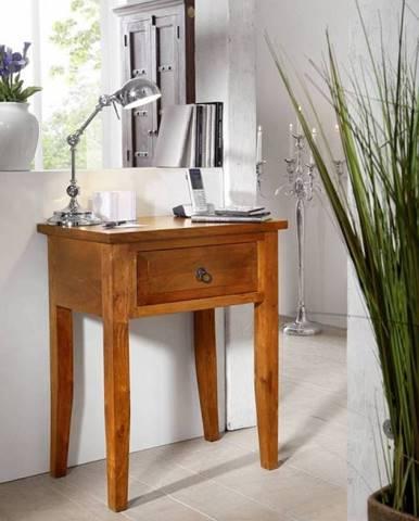 CAMBRIDGE HONEY Príručný stolík 60x40 cm, akácia