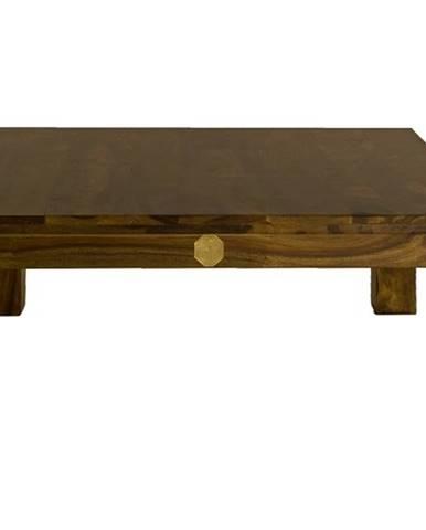 DAKOTA Konferenčný stolík 90x90 cm, palisander