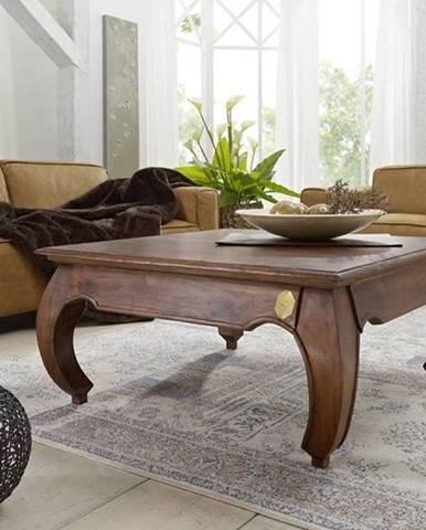 ORIENT Konferenčný stolík 90x90 cm, akácia