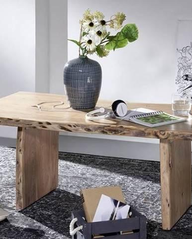 WOODLAND Konferenčný stolík 120x60 cm, prírodná, akácia
