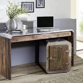 PLAIN SHEESHAM Písací stôl