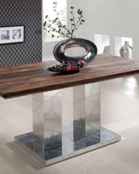 Bighome.sk PLAIN SHEESHAM Jedálenský stôl 160x90 cm