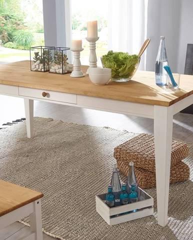 BIANCA Jedálenský stôl 180x90 cm, borovica