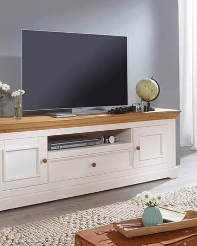 BIANCA TV stolík 189x63 cm, borovica