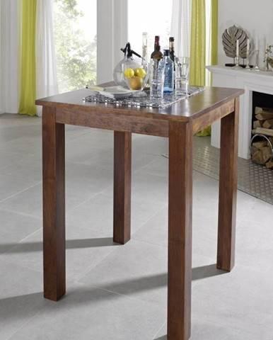 CAMBRIDGE Barový stôl 85x85 cm, akácia