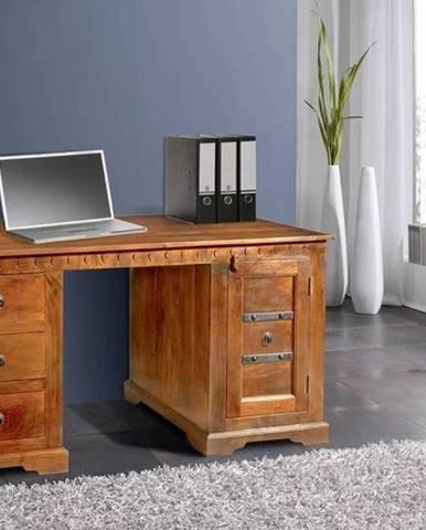 CAMBRIDGE HONEY Písací stôl 150x85 cm, akácia